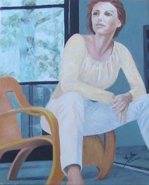 Nostalgia, 2009, olio su tela, cm 40x30