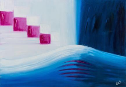 Mare fecondo, 2011, olio su tela, cm 70x100