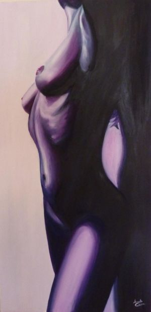 Fascino, 2011, olio su tela, cm 100x50