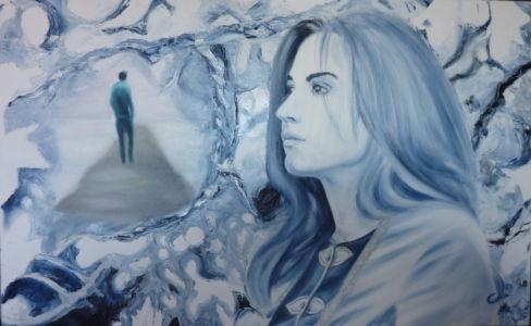 Amor perduto, 2012, olio su tela, cm 50x80