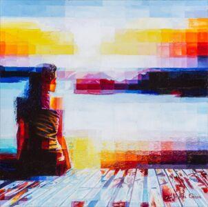 2021 - Bring Me The Horizon - Oil On Canvas - 40x40 - N.175