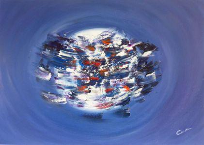 Scorie dell'anima, 2012, olio su tela cm 50x70