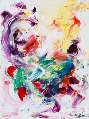 Anima jazz, 2013, olio su tela, cm 40x30