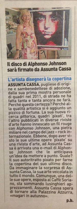 Il Resto Del Carlino  Ascoli Piceno 15 luglio 2017